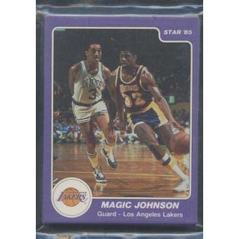 1984/85 Star Co. Basketball Lakers Bagged Set