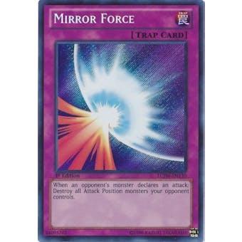 Yu-Gi-Oh Legendary Collection 4 1st Ed. Single Mirror Force Secret Rare Near Mint (NM) - LCJW