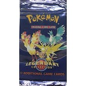 WOTC Pokemon Legendary Collection Booster Pack UNSEARCHED UNWEIGHED Moltres Zapdos Articuno Birds Art