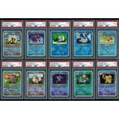 Pokemon Legendary Collection Reverse Foil LOT of 48 PSA 9 Commons and Uncommons