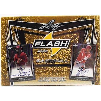 2018 Leaf Flash Baseball Hobby Box