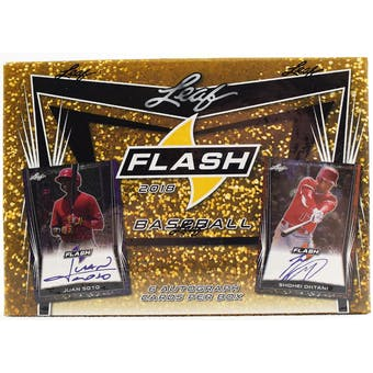 2018 Leaf Flash Baseball Hobby Box