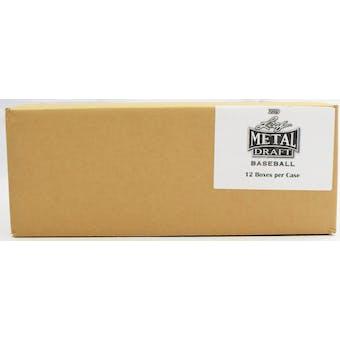 2019 Leaf Metal Draft Baseball Hobby 12-Box Case