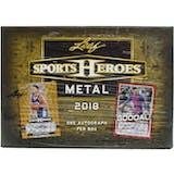 2018 Leaf Metal Sports Heroes Hobby Box
