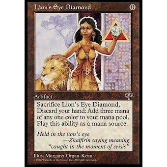 Magic the Gathering Mirage Single Lion's Eye Diamond - MODERATE PLAY (MP)