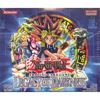 Upper Deck Yu-Gi-Oh Legacy of Darkness Unlimited Booster Box (24-Pack) LOD
