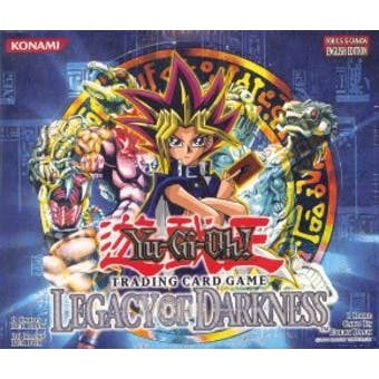 Upper Deck Yu-Gi-Oh Legacy of Darkness Unlimited Booster Box (36-Pack)
