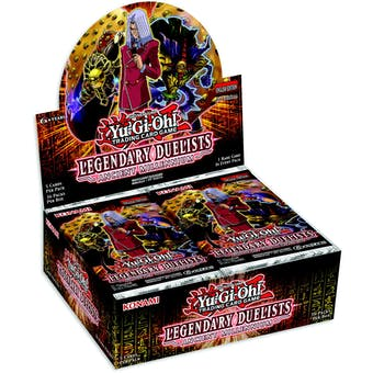 Yu-Gi-Oh Legendary Duelists: Ancient Millennium Booster Box