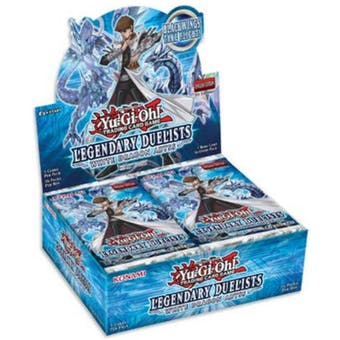 Yu-Gi-Oh Legendary Duelists: White Dragon Abyss Booster Box
