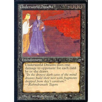 Magic the Gathering Legends Single Underworld Dreams - NEAR MINT (NM)