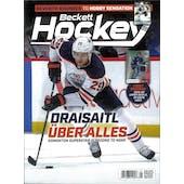 2020 Beckett Hockey Monthly Price Guide (#333 May) (Leon Draisaitl)