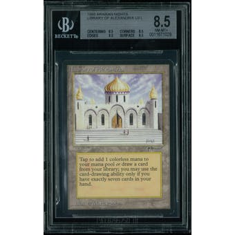 Magic the Gathering Arabian Nights Library of Alexandria BGS 8.5 (8.5, 8.5, 8.5, 8.5)