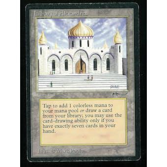 Magic the Gathering Arabian Nights Single Library of Alexandria - MODERATE/HEAVY PLAY (MP/HP)