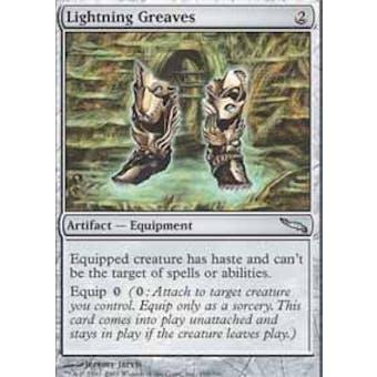 Magic the Gathering Mirrodin Single Lightning Greaves Foil