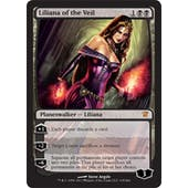 Magic the Gathering Innistrad Single Liliana of the Veil - NEAR MINT (NM)