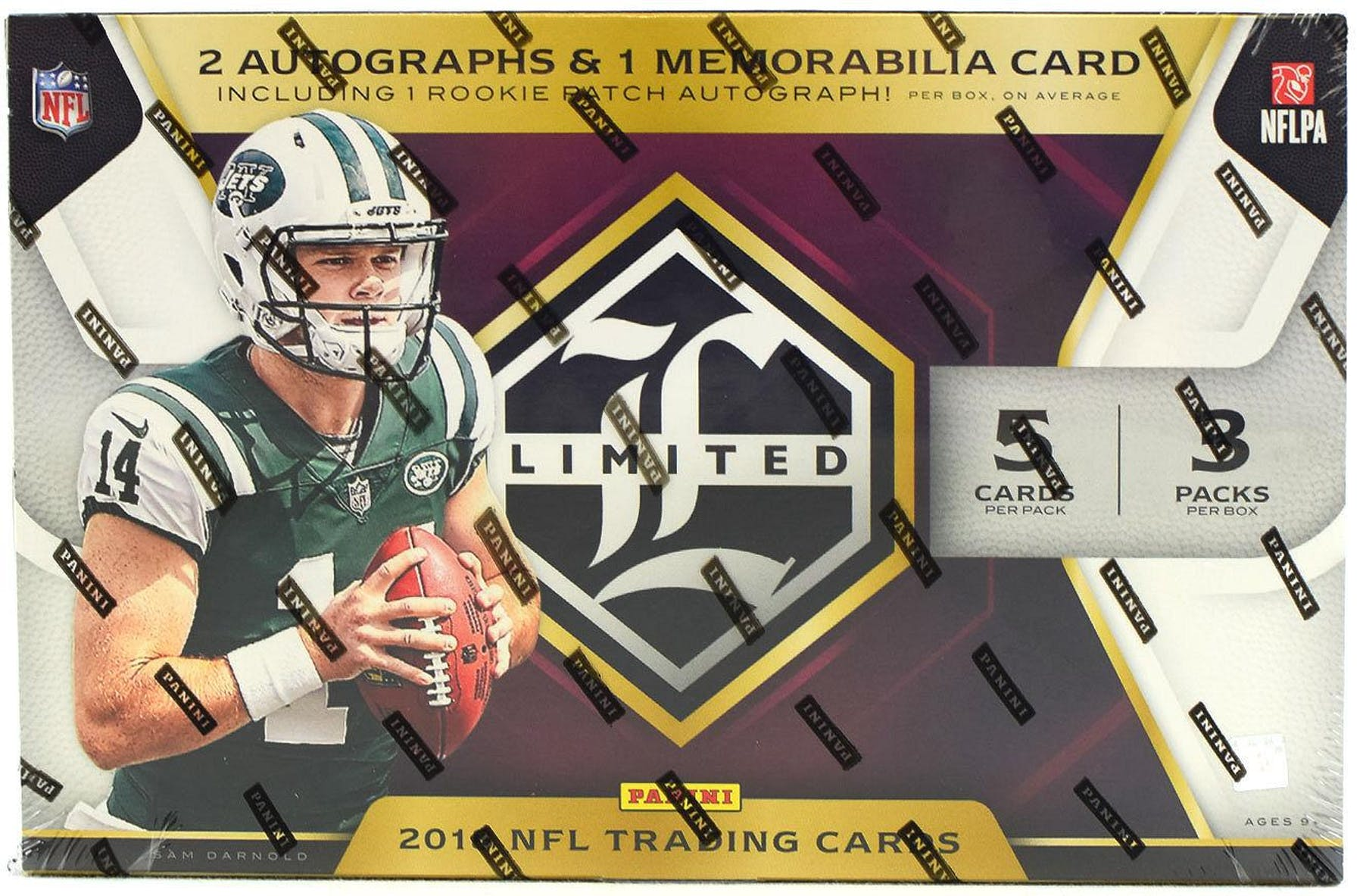 2018 Panini Limited Football Hobby Box