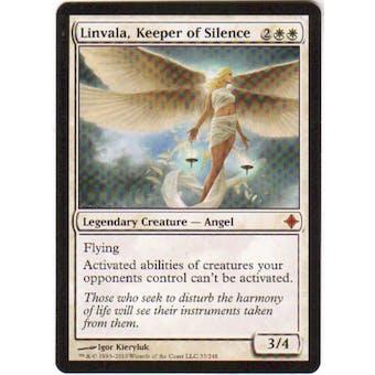 Magic the Gathering Rise of the Eldrazi Single Linvala, Keeper of Silence - NEAR MINT (NM)