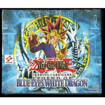 Upper Deck Yu-Gi-Oh Legend of Blue Eyes White Dragon 1st Edition Booster Box LOB BEWD - 1st Printing