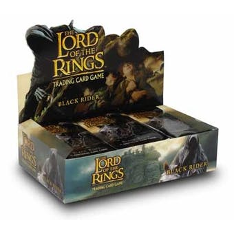 Decipher Lord of the Rings Black Rider Booster Box