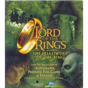 Lord of the Rings Fellowship of the Ring Movie 24 Pack Box (Topps)