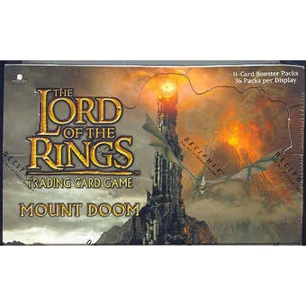 Decipher Lord of the Rings Mount Doom Booster Box