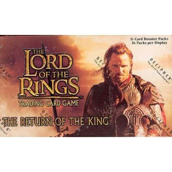 Decipher Lord of the Rings Return of the King Booster Box