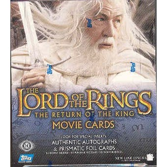 Lord of the Rings Return of the King Hobby Box (Topps)