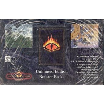 Middle Earth Wizards Unlimited Booster Box