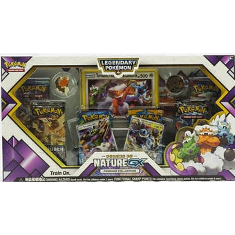 Pokemon Forces of Nature GX Premium Collection Box (Evolutions & Forbidden Light!)