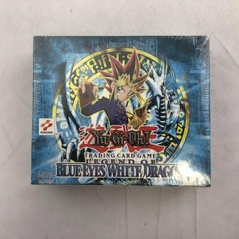 Upper Deck Yu-Gi-Oh Legend of Blue Eyes White Dragon Unlimited Booster Box LOB BEWD