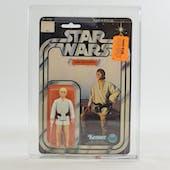 Star Wars Luke Skywalker 12 Back-C (Blonde Hair) AFA 75+ *14124737* C75 B85 F85