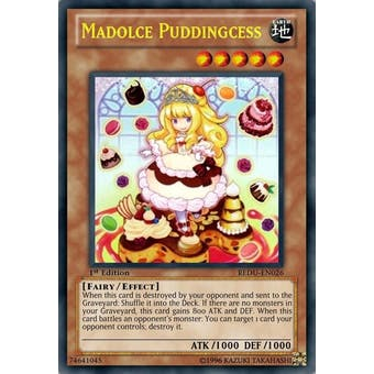 Yu-Gi-Oh Return of the Duelist 1st Edition Single Madolche Puddingcess Ultra Rare