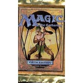 Magic the Gathering 5th Edition Booster Pack (Reed Buy)