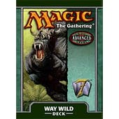 Magic the Gathering 7th Edition Way Wild Precon Theme Deck (Reed Buy)