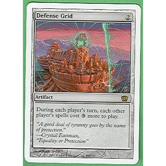 Magic the Gathering 8th Edition Single Defense Grid - NEAR MINT (NM)