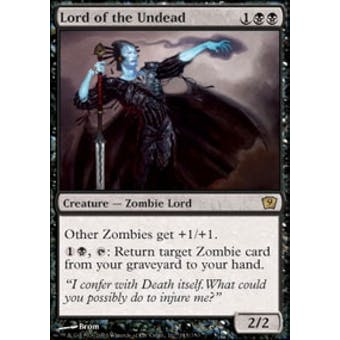 Magic the Gathering 9th Edition Single Lord of the Undead - NEAR MINT (NM)