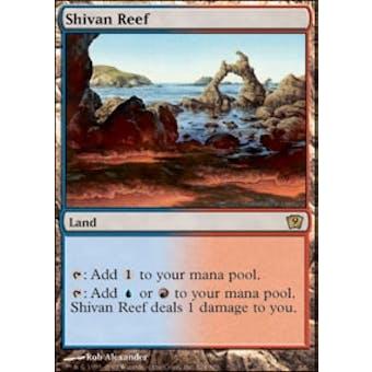 Magic the Gathering 9th Edition Single Shivan Reef - NEAR MINT (NM)