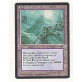 Magic the Gathering Alliances Single Lake of the Dead - MODERATE PLAY (MP)