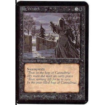 Magic the Gathering Alpha Single Bog Wraith - NEAR MINT (NM)