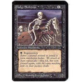 Magic the Gathering Alpha Single Drudge Skeletons - MODERATE PLAY (MP)