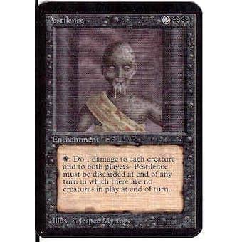 Magic the Gathering Alpha Single Pestilence - SLIGHT PLAY (SP)