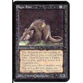 Magic the Gathering Alpha Single Plague Rats - SLIGHT PLAY (SP)