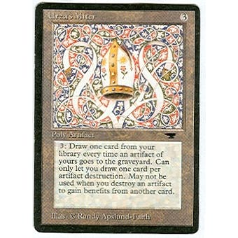 Magic the Gathering Antiquities Single Urza's Miter - SLIGHT PLAY (SP) Sick Deal Pricing