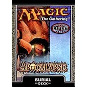 Magic the Gathering Apocalypse Burial Precon Theme Deck (Reed Buy)