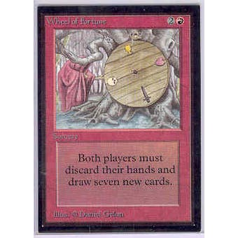 Magic the Gathering Beta Collector's Edition CE Single Wheel of Fortune (NEAR MINT)