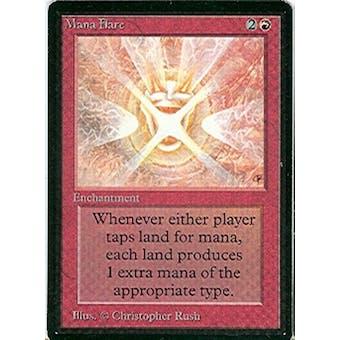 Magic the Gathering Beta Single Mana Flare - NEAR MINT (NM)