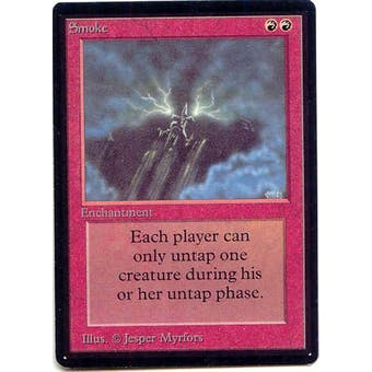 Magic the Gathering Beta Single Smoke - NEAR MINT (NM)