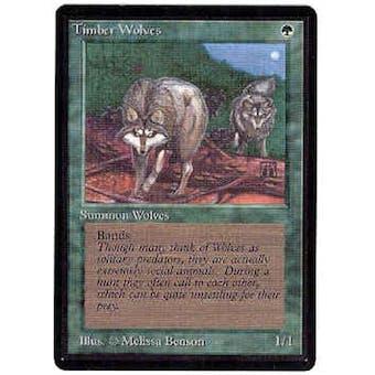 Magic the Gathering Beta Single Timber Wolves - SLIGHT PLAY (SP)
