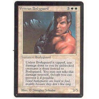 Magic the Gathering Beta Single Veteran Bodyguard - NEAR MINT (NM)