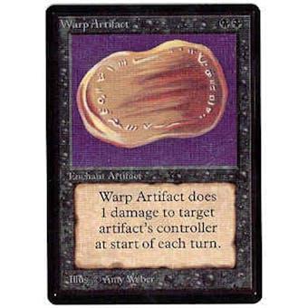 Magic the Gathering Beta Single Warp Artifact - NEAR MINT (NM)
